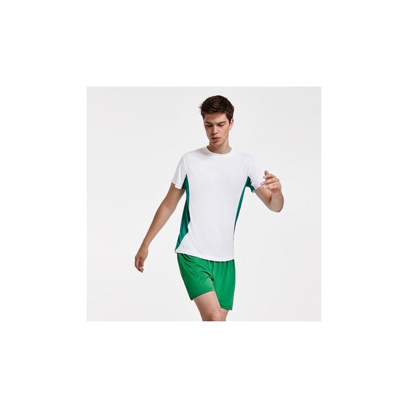 Maillot bicolor Blanc et vert - Homme Adulte