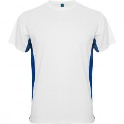 Maillot bicolor Blanc et bleu - Homme Adulte