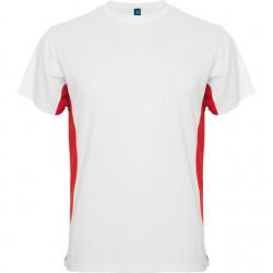 Maillot bicolor Blanc et rouge - Homme Adulte