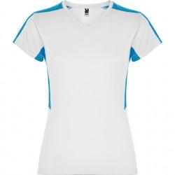 Maillot bicolor Blanc et bleu - Femme Adulte