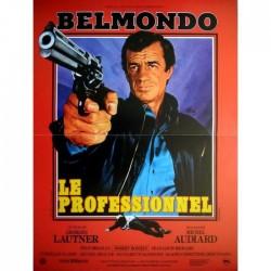 Affiche Le Professionnel Belmondo - Poster avec cadre tableau