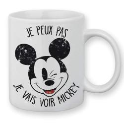 Mug / Tasse je peux pas j'ai Mickey