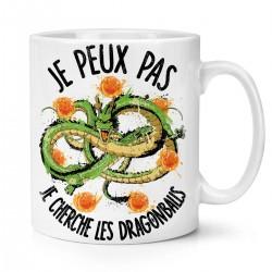 Mug / Tasse je peux pas je cherche les dragons balls