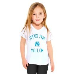 T-shirt Je peux pas y'a l'om - Cadeau enfant fille et garçon