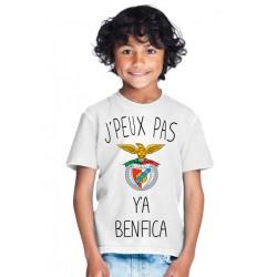 T-shirt Je peux pas y'a Benfica - Cadeau enfant fille et garçon